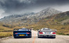 Le Mans on the road. (Alex Penfold) Tags: mercedes clk gtr porsche gt1 blue silver switzerland alex penfold 2017 supercar supercars super car cars autos 996