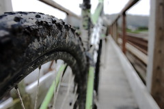 take me to the... mud (b_benjamin_b) Tags: mountainbike mud bokeh bokehvanishingpoint