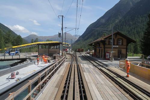 Spinas - Station RhB