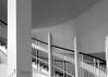 stairwell (christikren) Tags: austria architecture christikren ottowagner jugendstil treppenhaus staircase stairwell stairs psk bw blackwhite building gebäude indoor linesandcurves linescurves monochrome grey panasonic photo sw vienna wien september view stairway wall