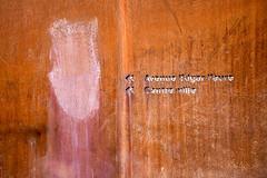 Avenue Edgar Faure (electron2009) Tags: rouille fer matiére