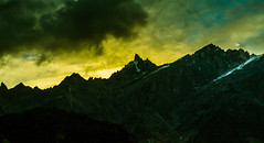 Magic Evenings (Anirban 1729) Tags: evening beauty mountains himalayas sunset sky landscape nature clouds light sun