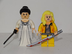 O-Ren Ishii and The Bride (501st DESIGNS) Tags: lego bride kill bill oren ishii customs minifigures