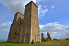 The ruins of Reculver Towers and Roman Fort (DESPITE STRAIGHT LINES) Tags: nikon d7200 nikond7200 nikkor1024mm nikon1024mm getty gettyimages gettyimagesesp despitestraightlinesatgettyimages paulwilliams paulwilliamsatgettyimages reculverabbey reculver reculverkent reculvertowers day clear sun coast coastline coastal kent england sky summer june reculverabbeyruins tales heritage history romans roman settlement religion faith stone architecture