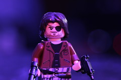 Escape from New York (lego slayer) Tags: escape from new york brickarms eclipsegrafx neon nyc prison