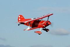 G-BRAA (goweravig) Tags: gbraa swanseaairport pitts special swansea wales uk visiting aircraft