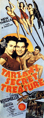 Tarzan's Secret Treasure (1941, USA) - 09 (kocojim) Tags: maureenosullivan illustrated kocojim publishing poster johnnyweissmuller advertising johnnysheffield film illustration motionpicture movieposter movie