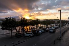 Puesta de sol. Gijón. (David A.L.) Tags: asturias gijón puestadesol atardecer ocaso puertodeportivo