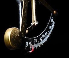In the Balance (arjan.jongkees) Tags: marcomonday libra horoscope scales kitchen black weight dof old antique balance zodiac