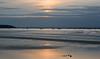 Going down (DaneGardner) Tags: dorset poole pooleharbour clouds cloudsstormssunsetssunrises sandbanks sea