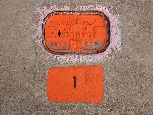 Orange Cover Plate #1