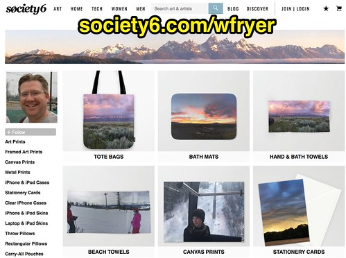 Society6 Storefront of Wesley Fryer by Wesley Fryer, on Flickr