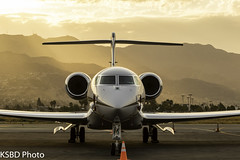 N271DV G650ER (KSBD Photo) Tags: burbank california unitedstates us n271dv g650er gulfstream g650 glf6 g6 gulfstreamfan gulfstreamforever fanfriday