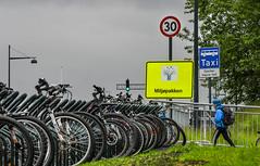 Åpning Bromstadveien 0524 (Miljøpakken) Tags: miljøpakken miljopakken trondheim skole skolebarn sykling skoleveg sykkelparkering parkering sykkel skilt miljøpakkeskilt