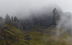 Old Man of Storr (Andy Davis Photography) Tags: bodachanstòrr anstòr storr skye trotternish mist lowcloud rain canon