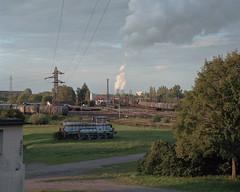 (laurentgaudart) Tags: laurentgaudart photography florange mamiya7ii film moselle grandest paysage france industriel industry industrie industrial landscape landschaft cattenom power plant centrale nucléaire