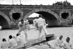 Joutes Nautiques I (glarigno) Tags: joutes joute nautique water aquatic fight garonne toulouse france europe europa people personnes street river fleuve boats bateau boat bateaux