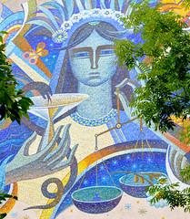 School of pharmacy (Francisco Anzola) Tags: ngc lviv lwow ukraine westernukraine building art university mosaic tile