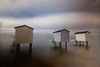 Beach Huts (2 of 4) (selvagedavid38) Tags: water sea sky ocean neutral density filter hut essex heybridge time tide long exposure relax