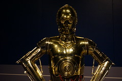 """C-3P0 Costume • <a style=""""font-size:0.8em;"""" href=""""http://www.flickr.com/photos/28558260@N04/37356939412/"""" target=""""_blank"""">View on Flickr</a>"""