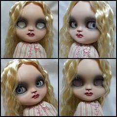 Luna  my latest  doll i have customized