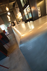 _DSC2082 (fdpdesign) Tags: pizzamaria pizzeria genova viacecchi foce italia italy design nikon d800 d200 furniture shopdesign industrial lampade arredo arredamento legno ferro abete tavoli sedie locali