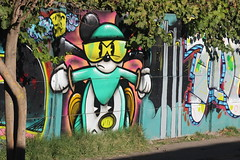 Pintura en la Calle (León Escobar) Tags: calle street santa fe santafe curico chile
