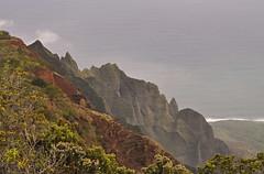 USA - Hawaii - Kauai - Napali Coast - Kalalau Valley (Harshil.Shah) Tags: hawaii kauai hi united states america usa unitedstates napali coast kalalau valley cliff landscape sea ocean pacific volcanic island viewpoint trip shore roadtrip scenery naturaleza