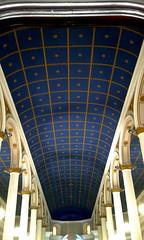 Iglesia Nuestra Señora de la Soledad}: interior av.2a-4, c.9-11/ Church of Our Lady of Solitude 2a-4th av., 9th-11th st. (vantcj1) Tags: pintura decoración iglesia ventana arco patrimonio histórico