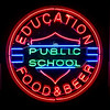 Public School Education (Jeremy Brooks) Tags: ampersand bar california losangeles losangelescounty neon restaurant usa unitedstates us