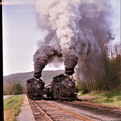 The Great Shay Race Cass Scenic RR (ratsrule67) Tags: