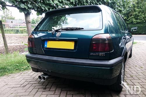 VW Golf MK3 GTI Backside 20-08-2017