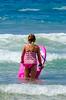 Pink Boogie (Kevin MG) Tags: beach ocean water sand bikini bikinis bathingsuit bathingsuits surf zumabeach losangeles malibu girl girls young youth cute pretty little boogieboard fun summer