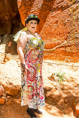 Daniel Chimowitz Art Nevow Photo Shoot 4Chion Lifestyle Tammy Forchion-12 (4chionlifestyle) Tags: arizona art canvasart danielchimowitz sedona beauty boots dress fashion glam gown gowns hair hat makeup model modeling photoshoot photography pictograph pictographs punk redrock shoes steampunk style styling artnevow hiking 4chionstyle petroglyph