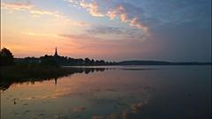 Sunrise (Katarina Östergren) Tags: sunrise lindesberg lindesjön reflections nokia lumia 1020