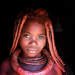 Namibia (mokyphotography) Tags: namibia africa himba tribù tribe tribal travel epupafalls village villaggio canon ritratto portrait occhi eyes woman donna