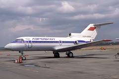 CCCP-87934 Yakovlev Yak-40K Aeroflot (pslg05896) Tags: ukk uask ustkamenogorsk oskemen cccp87934 yakovlev yak40 aeroflot
