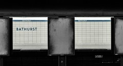 Ad-less (Underground Joan Photography) Tags: bathurststation toronto subwaystation subway urban bathurststreet theannex ttc