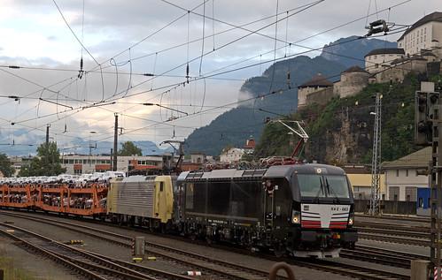 A MRCE X4 E 663 + RTC 189 902 Kufstein 03-09-2017