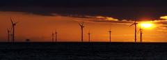 Wallasey sunset (locusmeus) Tags: 365 summer sunset clouds sky windmills wallasey newbrighton wirral uk
