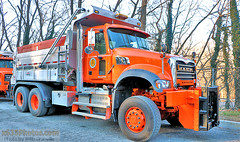 Town Of Greenburgh (NY) Highway Department Truck 11 (Seth Granville) Tags: greenburgh highway department 2016 mack granite henderson muni combination spreader dump body plow municipal salt snow ice control dpw roads