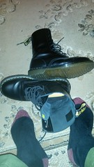 20161229_175530 (rugby#9) Tags: drmartens boots icon size 7 eyelets doc martens air wair airwair bouncing soles original hole lace docmartens dms cushion sole yellow stitching yellowstitching dr comfort cushioned wear feet dm 10hole black 1490 10 combats greencombats armycombats combattrousers greencombattrousers armycombattrousers docs doctormarten shoe footwear boot indoor socks blacksocks dmsocks purple