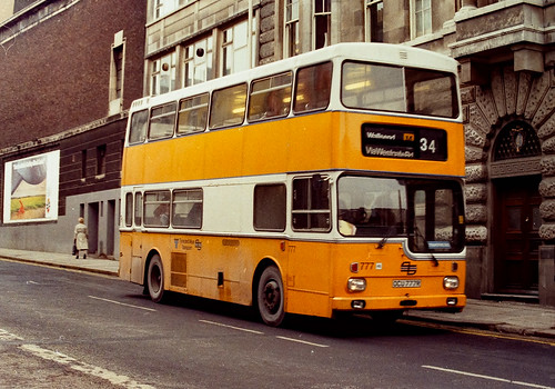 Newcastle Buses - January 1985 - OCU 777 R