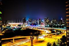 DSC_4689 (CMfotography) Tags: vancouver yvr bc britishcolumbia cmfotography night nightlight nightphotography nightlights nightmoves van bear grousemountain bearsanctuary vancouverskyline skyline cityscape city urban