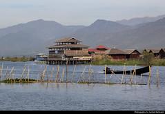 Inle Lake, Myanmar (JH_1982) Tags: inle lake inlay intha shan state water inlesee inlemeer lago 茵萊湖 インレー湖 인레 호 инле इन्ले झील boat boats huts hut landscpae myanmar burma birma birmania birmanie 缅甸 ミャンマー 미얀마 мьянма म्यान्मार myanma jochenhertweck travel traveling travelling ประเทศพม่า mjanma exotic
