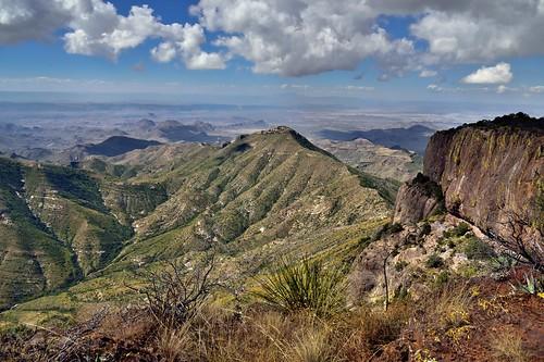 Santa Elena Canyon and the Sierra Ponce Cliffs... (Big Bend National Park)