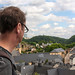 Grund from above, Luxembourg City