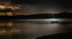 Let your dreams set sail... (AlphaJedi) Tags: boat sail water waterfront sea ship sunset