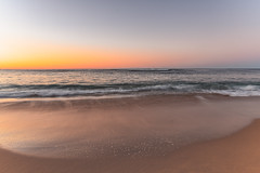 Sunrise Beach Seascape (Merrillie) Tags: daybreak shoreline sand landscape nature australia surf newsouthwales forrestersbeach earlymorning nsw sky beach ocean centralcoast sea water photography coastal outdoors waterscape dawn coast sunrise seascape