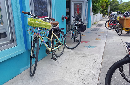 Our bikes chillin' at the Tropic